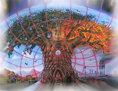 gaia by alex grey i am drawn to many of alex greys works because he    Gaia Alex Grey